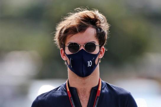 Pierre Gasly (FRA) AlphaTauri. 12.12.2020. Formula 1 World Championship, Rd 17, Abu Dhabi Grand Prix, Yas Marina Circuit, Abu Dhabi, Qualifying Day. - www.xpbimages.com, EMail: requests@xpbimages.com © Copyright: Moy / XPB Images
