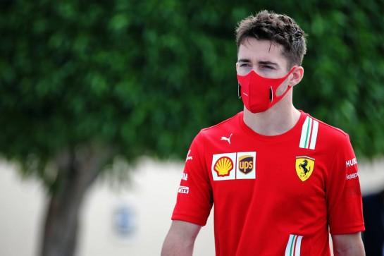 Charles Leclerc (MON) Ferrari. 12.12.2020. Formula 1 World Championship, Rd 17, Abu Dhabi Grand Prix, Yas Marina Circuit, Abu Dhabi, Qualifying Day. - www.xpbimages.com, EMail: requests@xpbimages.com © Copyright: Batchelor / XPB Images