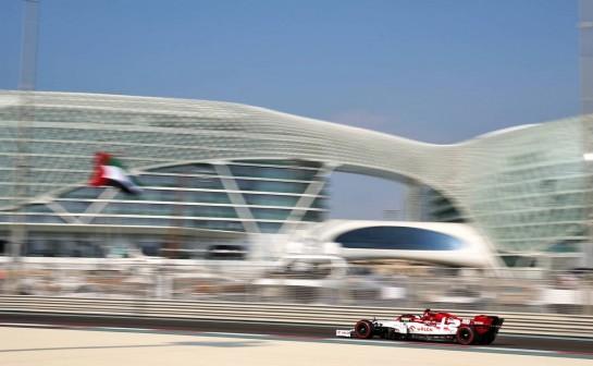Antonio Giovinazzi (ITA) Alfa Romeo Racing C39. 12.12.2020. Formula 1 World Championship, Rd 17, Abu Dhabi Grand Prix, Yas Marina Circuit, Abu Dhabi, Qualifying Day. - www.xpbimages.com, EMail: requests@xpbimages.com © Copyright: Batchelor / XPB Images
