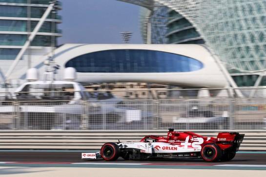 Kimi Raikkonen (FIN) Alfa Romeo Racing C39. 12.12.2020. Formula 1 World Championship, Rd 17, Abu Dhabi Grand Prix, Yas Marina Circuit, Abu Dhabi, Qualifying Day. - www.xpbimages.com, EMail: requests@xpbimages.com © Copyright: Batchelor / XPB Images
