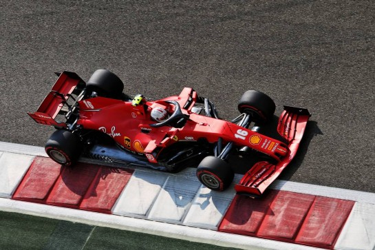 Charles Leclerc (MON) Ferrari SF1000. 12.12.2020. Formula 1 World Championship, Rd 17, Abu Dhabi Grand Prix, Yas Marina Circuit, Abu Dhabi, Qualifying Day. - www.xpbimages.com, EMail: requests@xpbimages.com © Copyright: Moy / XPB Images