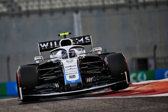 Nicholas Latifi (CDN) Williams Racing FW43. 12.12.2020. Formula 1 World Championship, Rd 17, Abu Dhabi Grand Prix, Yas Marina Circuit, Abu Dhabi, Qualifying Day. - www.xpbimages.com, EMail: requests@xpbimages.com © Copyright: Batchelor / XPB Images