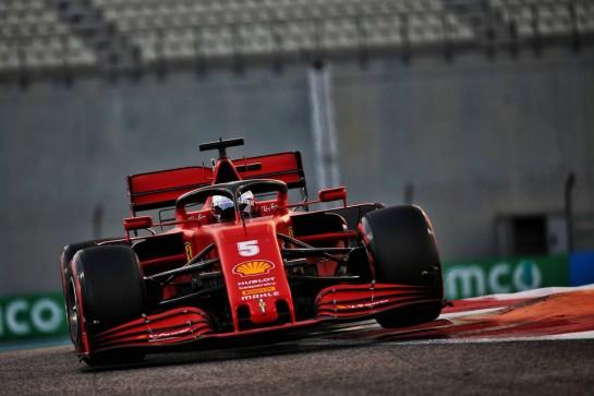 Sebastian Vettel (GER) Ferrari SF1000. 12.12.2020. Formula 1 World Championship, Rd 17, Abu Dhabi Grand Prix, Yas Marina Circuit, Abu Dhabi, Qualifying Day. - www.xpbimages.com, EMail: requests@xpbimages.com © Copyright: Batchelor / XPB Images
