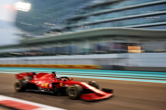 Sebastian Vettel (GER) Ferrari SF1000. 12.12.2020. Formula 1 World Championship, Rd 17, Abu Dhabi Grand Prix, Yas Marina Circuit, Abu Dhabi, Qualifying Day. - www.xpbimages.com, EMail: requests@xpbimages.com © Copyright: Moy / XPB Images