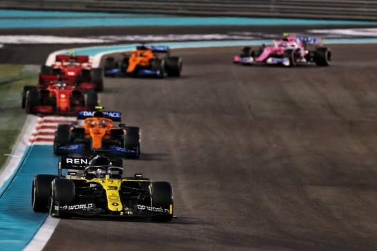 Daniel Ricciardo (AUS) Renault F1 Team RS20. 13.12.2020. Formula 1 World Championship, Rd 17, Abu Dhabi Grand Prix, Yas Marina Circuit, Abu Dhabi, Race Day. - www.xpbimages.com, EMail: requests@xpbimages.com © Copyright: Moy / XPB Images