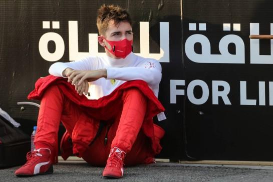 Charles Leclerc (MON) Ferrari on the grid. 13.12.2020. Formula 1 World Championship, Rd 17, Abu Dhabi Grand Prix, Yas Marina Circuit, Abu Dhabi, Race Day. - www.xpbimages.com, EMail: requests@xpbimages.com © Copyright: Charniaux / XPB Images