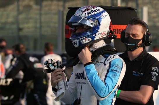 Nicholas Latifi (CDN) Williams Racing.13.12.2020. Formula 1 World Championship, Rd 17, Abu Dhabi Grand Prix, Yas Marina Circuit, Abu Dhabi, Race Day.- www.xpbimages.com, EMail: requests@xpbimages.com © Copyright: Batchelor / XPB Images
