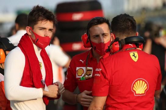 Charles Leclerc (MON) Ferrari SF1000.13.12.2020. Formula 1 World Championship, Rd 17, Abu Dhabi Grand Prix, Yas Marina Circuit, Abu Dhabi, Race Day.- www.xpbimages.com, EMail: requests@xpbimages.com © Copyright: Batchelor / XPB Images