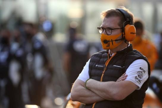Andreas Seidl, McLaren Managing Director. 13.12.2020. Formula 1 World Championship, Rd 17, Abu Dhabi Grand Prix, Yas Marina Circuit, Abu Dhabi, Race Day. - www.xpbimages.com, EMail: requests@xpbimages.com © Copyright: Batchelor / XPB Images