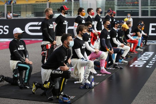 The drivers of 2020.13.12.2020. Formula 1 World Championship, Rd 17, Abu Dhabi Grand Prix, Yas Marina Circuit, Abu Dhabi, Race Day.- www.xpbimages.com, EMail: requests@xpbimages.com © Copyright: Batchelor / XPB Images