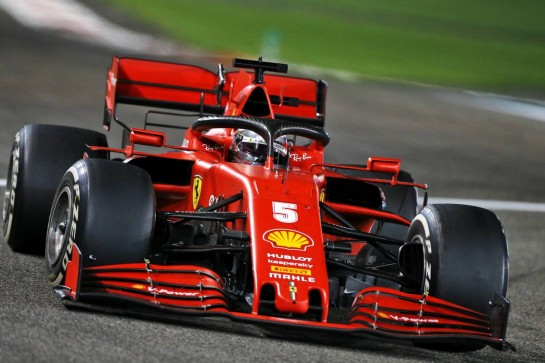 Sebastian Vettel (GER) Ferrari SF1000. 13.12.2020. Formula 1 World Championship, Rd 17, Abu Dhabi Grand Prix, Yas Marina Circuit, Abu Dhabi, Race Day. - www.xpbimages.com, EMail: requests@xpbimages.com © Copyright: Moy / XPB Images