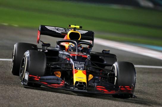 Alexander Albon (THA) Red Bull Racing RB16. 13.12.2020. Formula 1 World Championship, Rd 17, Abu Dhabi Grand Prix, Yas Marina Circuit, Abu Dhabi, Race Day. - www.xpbimages.com, EMail: requests@xpbimages.com © Copyright: Moy / XPB Images