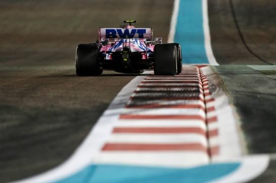 Lance Stroll (CDN) Racing Point F1 Team RP20. 13.12.2020. Formula 1 World Championship, Rd 17, Abu Dhabi Grand Prix, Yas Marina Circuit, Abu Dhabi, Race Day. - www.xpbimages.com, EMail: requests@xpbimages.com © Copyright: Moy / XPB Images