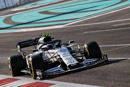Marino Sato (JPN) AlphaTauri AT01 Test Driver. 15.12.2020. Formula 1 Testing, Yas Marina Circuit, Abu Dhabi, Tuesday. - www.xpbimages.com, EMail: requests@xpbimages.com © Copyright: Batchelor / XPB Images