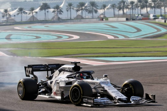 Yuki Tsunoda (JPN) AlphaTauri AT01 Test Driver. 15.12.2020. Formula 1 Testing, Yas Marina Circuit, Abu Dhabi, Tuesday. - www.xpbimages.com, EMail: requests@xpbimages.com © Copyright: Batchelor / XPB Images
