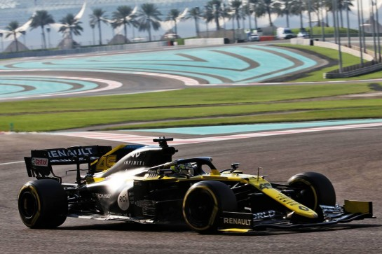 Guanyu Zhou (CHN) Renault F1 Team RS20 Test Driver. 15.12.2020. Formula 1 Testing, Yas Marina Circuit, Abu Dhabi, Tuesday. - www.xpbimages.com, EMail: requests@xpbimages.com © Copyright: Batchelor / XPB Images