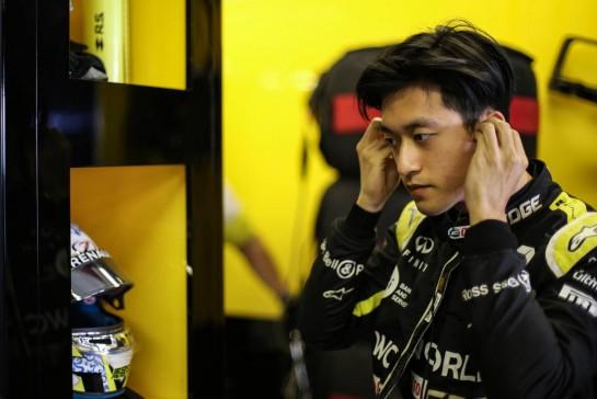 Guanyu Zhou (CHN) Renault F1 Team Test Driver. 15.12.2020. Formula 1 Testing, Yas Marina Circuit, Abu Dhabi, Tuesday. - www.xpbimages.com, EMail: requests@xpbimages.com © Copyright: Charniaux / XPB Images