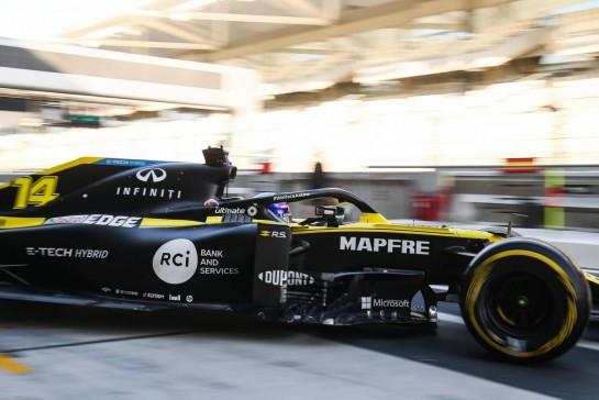 Fernando Alonso (ESP) Renault F1 Team RS20. 15.12.2020. Formula 1 Testing, Yas Marina Circuit, Abu Dhabi, Tuesday. - www.xpbimages.com, EMail: requests@xpbimages.com © Copyright: Charniaux / XPB Images