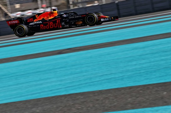 Juri Vips (EST) Red Bull Racing RB16 Test Driver. 15.12.2020. Formula 1 Testing, Yas Marina Circuit, Abu Dhabi, Tuesday. - www.xpbimages.com, EMail: requests@xpbimages.com © Copyright: Batchelor / XPB Images