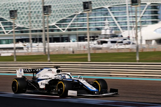 Jack Aitken (GBR) / (KOR) Williams Racing FW43. 15.12.2020. Formula 1 Testing, Yas Marina Circuit, Abu Dhabi, Tuesday. - www.xpbimages.com, EMail: requests@xpbimages.com © Copyright: Batchelor / XPB Images