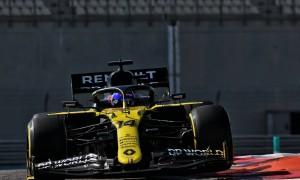 Renault's Alonso tops Abu Dhabi post-season test