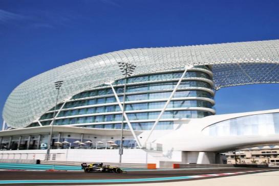 Fernando Alonso (ESP) Renault F1 Team RS20. 15.12.2020. Formula 1 Testing, Yas Marina Circuit, Abu Dhabi, Tuesday. - www.xpbimages.com, EMail: requests@xpbimages.com © Copyright: Batchelor / XPB Images
