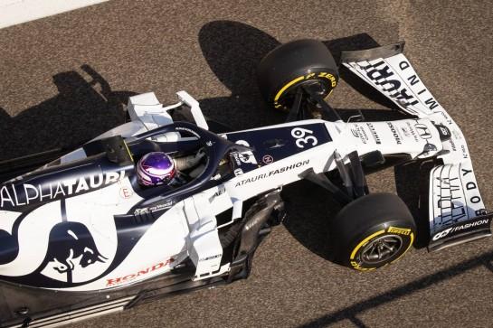 Marino Sato (JPN) AlphaTauri AT01 Test Driver. 15.12.2020. Formula 1 Testing, Yas Marina Circuit, Abu Dhabi, Tuesday. - www.xpbimages.com, EMail: requests@xpbimages.com © Copyright: Bearne / XPB Images
