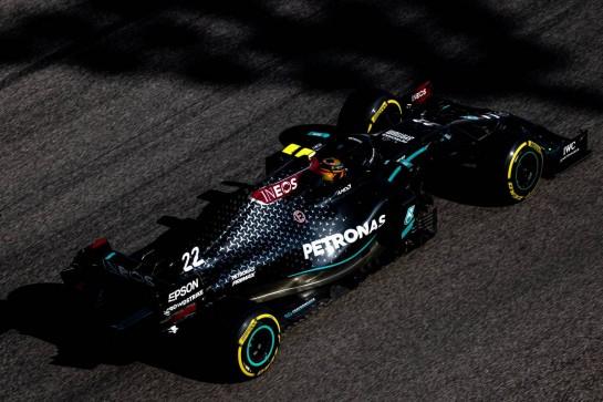 Stoffel Vandoorne (BEL) Mercedes AMG F1 W11 Reserve Driver. 15.12.2020. Formula 1 Testing, Yas Marina Circuit, Abu Dhabi, Tuesday. - www.xpbimages.com, EMail: requests@xpbimages.com © Copyright: Bearne / XPB Images