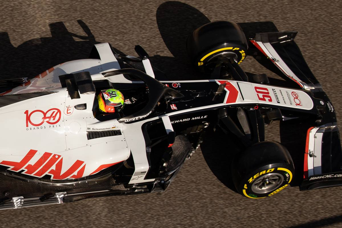 Mick Schumacher (GER) Haas VF-20 Test Driver. 15.12.2020. Formula 1 Testing, Yas Marina Circuit