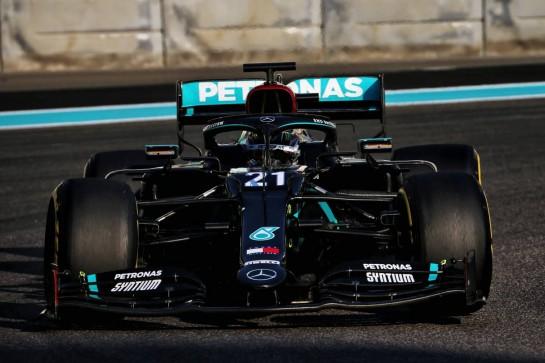 Nyck de Vries (NLD) Mercedes AMG F1 W11 Test Driver. 15.12.2020. Formula 1 Testing, Yas Marina Circuit, Abu Dhabi, Tuesday. - www.xpbimages.com, EMail: requests@xpbimages.com © Copyright: Batchelor / XPB Images