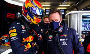 Horner insists Red Bull had to go with the data on Albon
