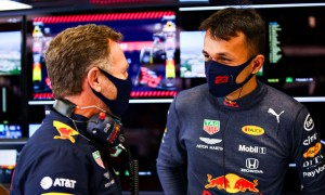 Horner impressed by Albon 'resilience and class' amid struggles