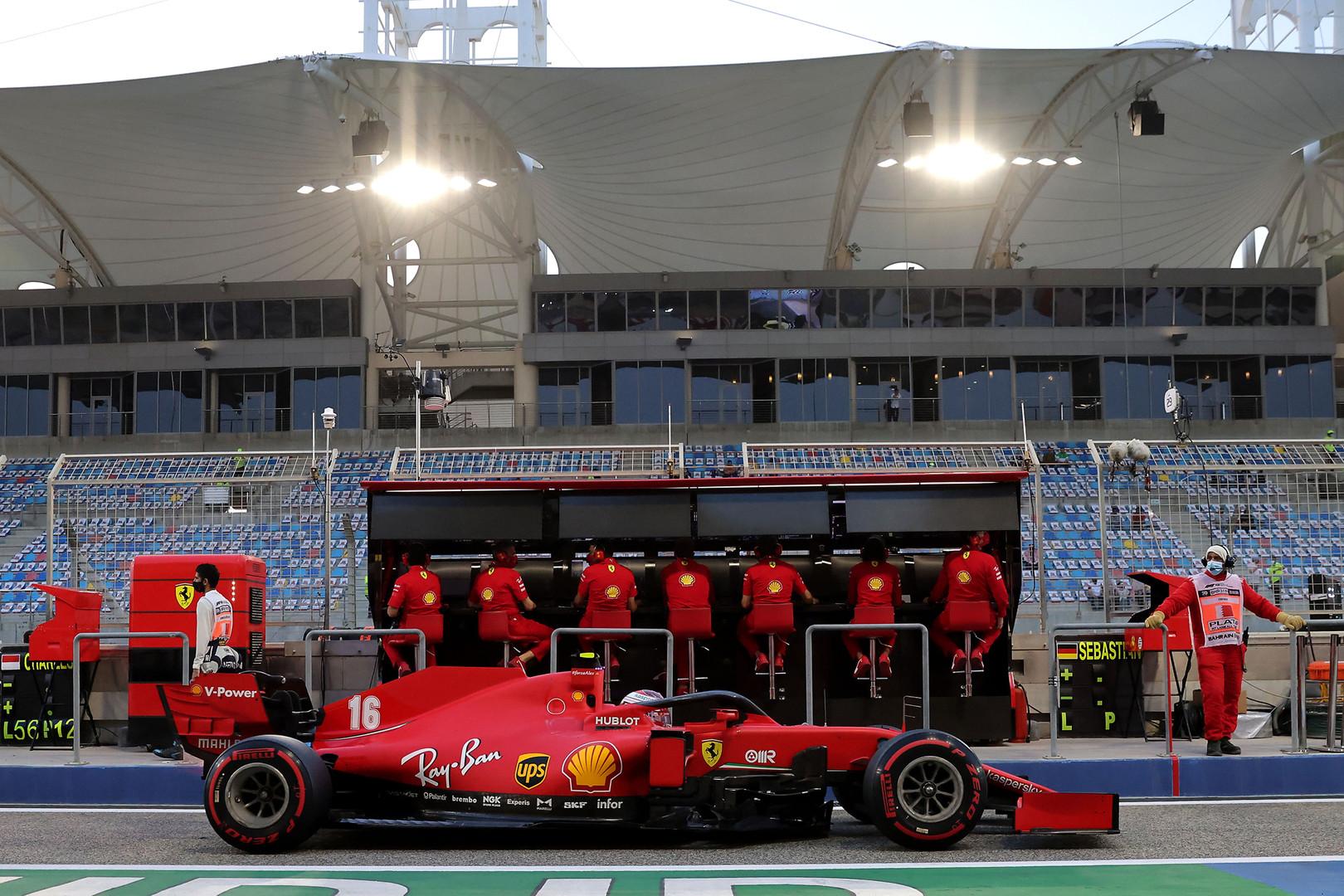 Ferrari Leclerc Developing Into Clear Leader Like Schumacher