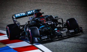 Racy Russell remains in charge for Mercedes in FP2