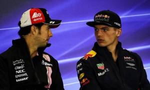 Verstappen: Perez will help Red Bull put 'pressure' on Mercedes