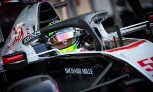 Schumacher happy with 'smooth' maiden FP1 with Haas