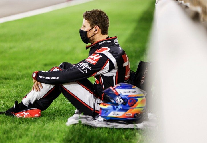 Grosjean determined to race in Abu Dhabi says Steiner