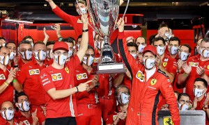 Vettel admits to 'emotional day' as Ferrari chapter closes