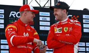 Vettel advises Mick Schumacher to 'find his own path'