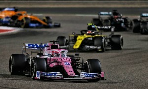 Perez: 'Good pace' would have kept Russell at bay