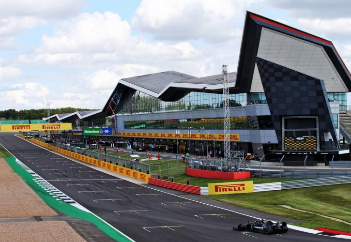 Lewis Hamilton has part of Silverstone circuit named in his honour