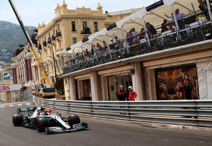 Valtteri Bottas (FIN) Mercedes AMG F1 W10. 25.05.2019. Formula 1 World Championship, Rd 6, Monaco Grand Prix