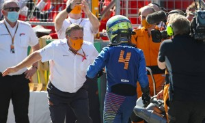 'Genuine' Norris praised by 'proud' McLaren boss