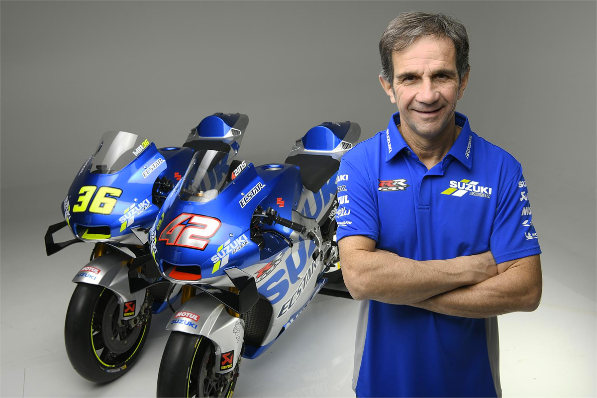 Suzuki MotoGP team boss Davide Brivio