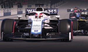 Williams' Russell and Latifi headline Virtual Austrian GP