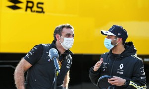 Ricciardo has made Alpine a bigger threat in 2021 - Abiteboul