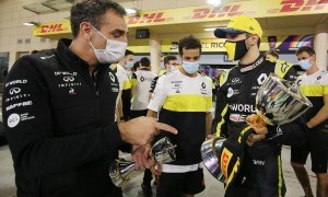 Ricciardo: Tattoo remains 'unfinished business' with Abiteboul