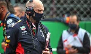 Facetious Mercedes mocks media praise for Red Bull's Newey