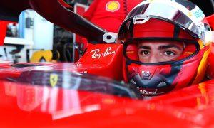 Vamos! Carlos Sainz hits the track with Ferrari