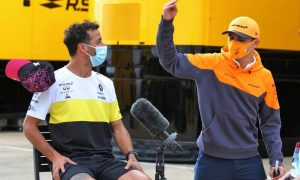 Ricciardo: No 'comedy show' with Lando at McLaren